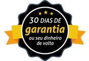garantia de devolução do dinheiro em 30 dias